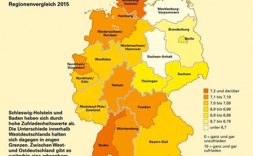 Die glücklichsten Deutschen leben im Norden!